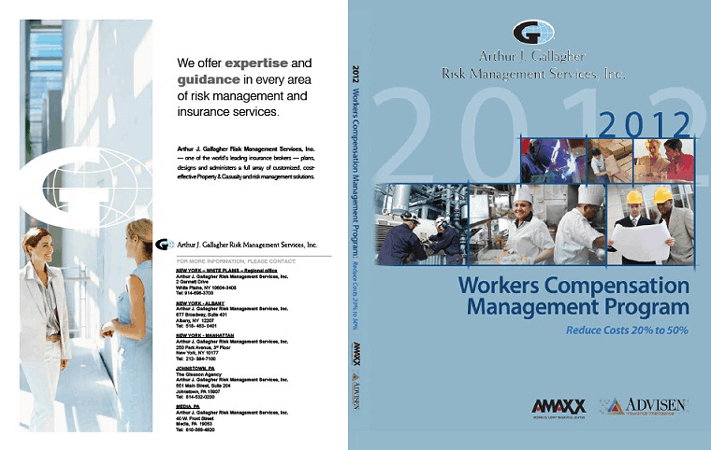Workers Comp Book Custom Cover for Multiple Arthur J. Gallagher Offices